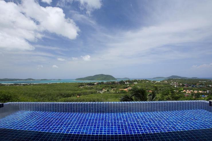 Panoramic sea views across the Andaman Sea