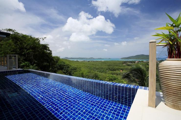Andaman View (V02) - Infinity edge swimming pool with integral jacuzzi