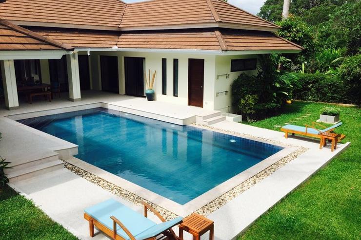Baan Banyan and pool deck