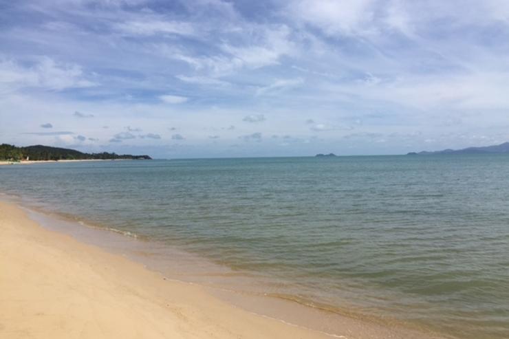 Maenam Beach - 2.3 km away