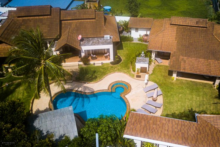 Aerial View of Baan Lily