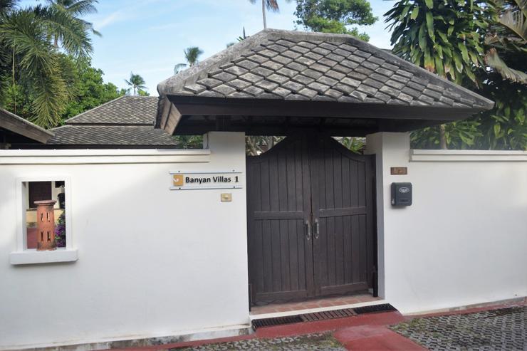 Banyan Villa 1 - Pedestrian Entrance