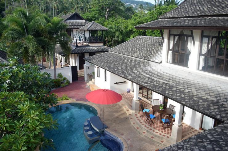 Banyan Villa 1 -  view to Banyan Villa 2