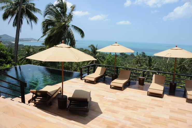 Golden Palm Villa - Terrace View