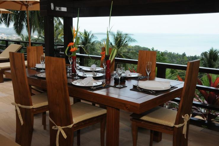 Golden Palm Villa - Dining Sala View