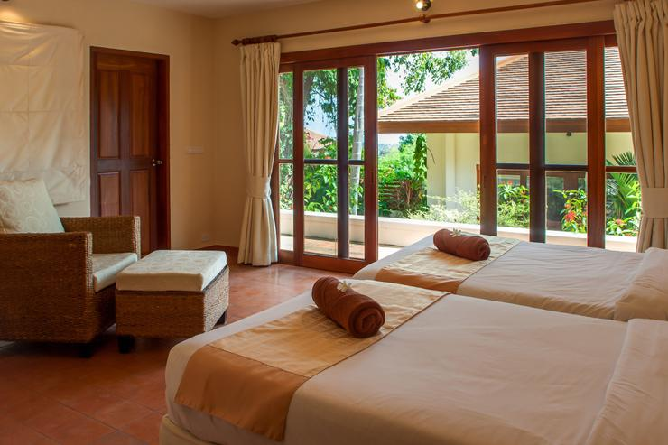 Villa Sapparos - Guest bedroom twin