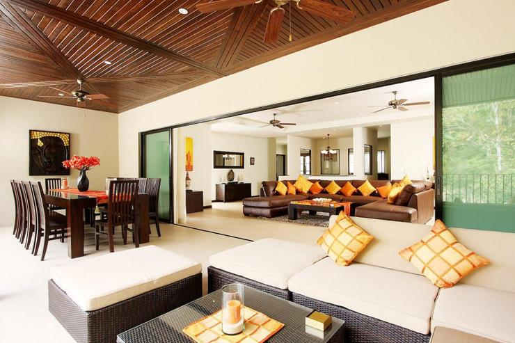 Living room opens directly onto the outdoor balcony, making it perfect for indoor/outdoor living