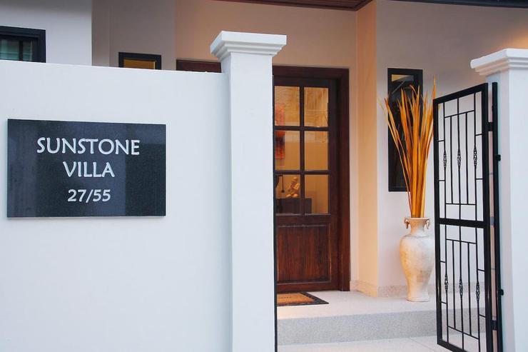 Entrance to Sunstone Villa