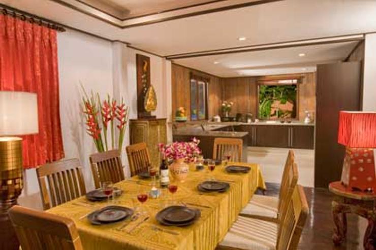 Villa Bann Souha Dinning Room