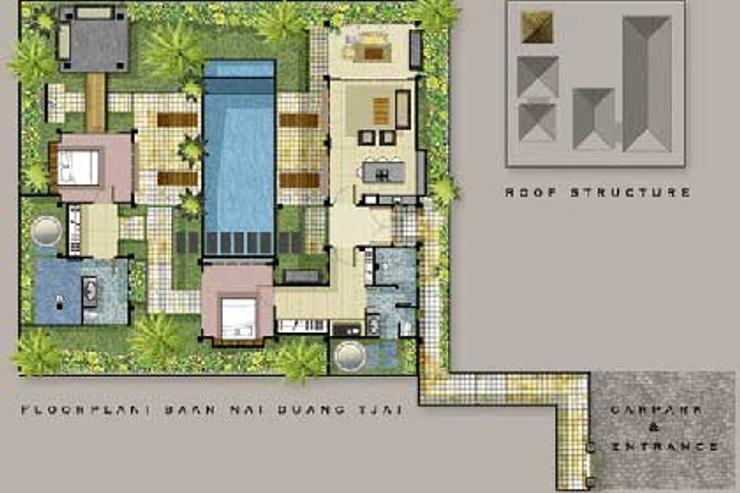 Villa Samprasada - Villa Samprasada Map