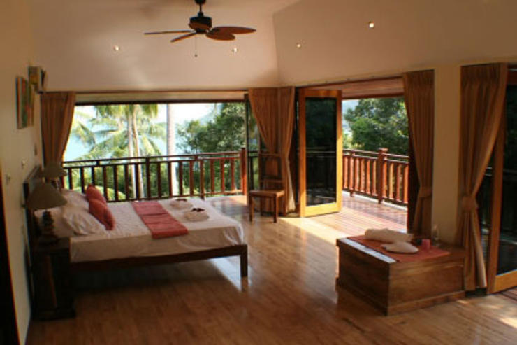 Villa Vadee Koh Phangan - Open Plan Living Area