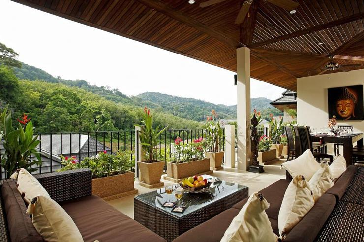 Tranquil open valley views bringing a light breeze onto the spacious balcony