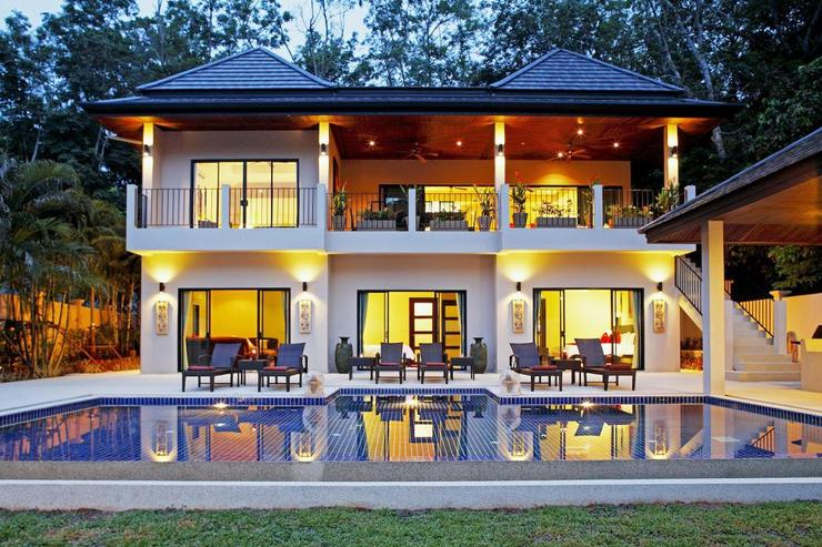 Coral Villa comprises of two floors, with infinity edge swimming pool and open views across the valley