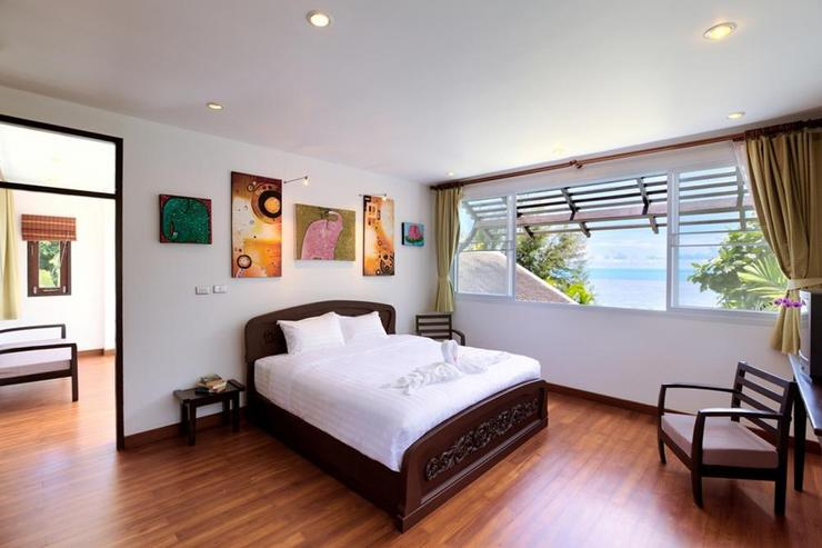 Bedroom 3 with amazing ocean views - all bedrooms have such views