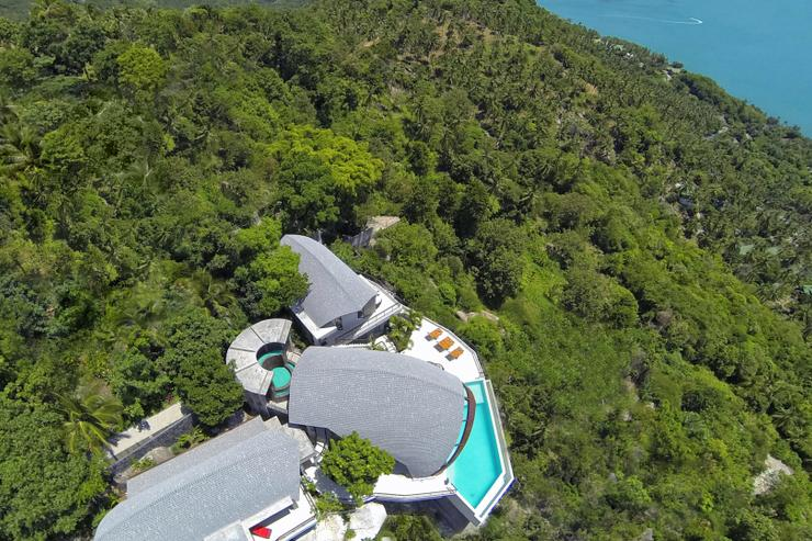 Moon Shadow - Offering 180 degree panoramic ocean-views - arguably the best view of any villa in Samui