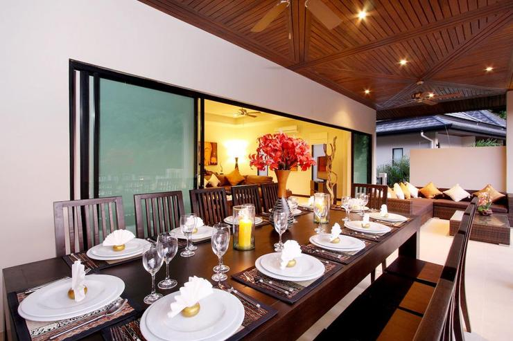Opal Villa (V11) - Thai meals can be prepared by the in-house cook and enjoyed sitting on the airy balcony