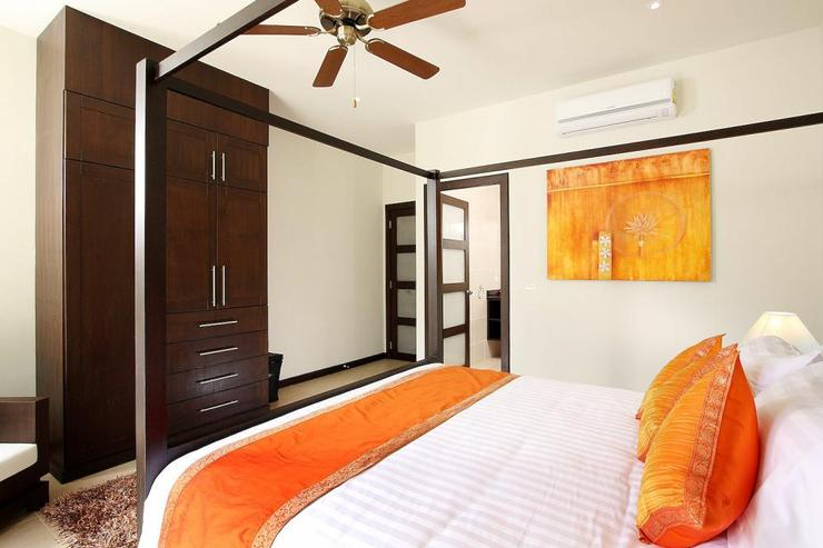 Opal Villa (V11) - Bedroom 3 with en-suite bathroom, air conditioning and ceiling fan
