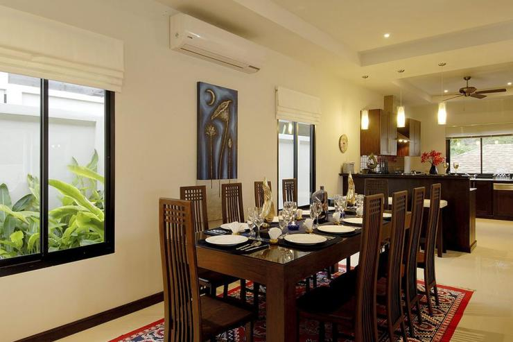 Pearl Villa (V12) - Open plan dining room and kitchen to enjoy in-house meals
