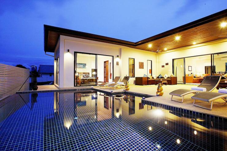 Pearl Villa (V12) - Inviting swimming pool easily accessible from living room and the two upstairs bedrooms