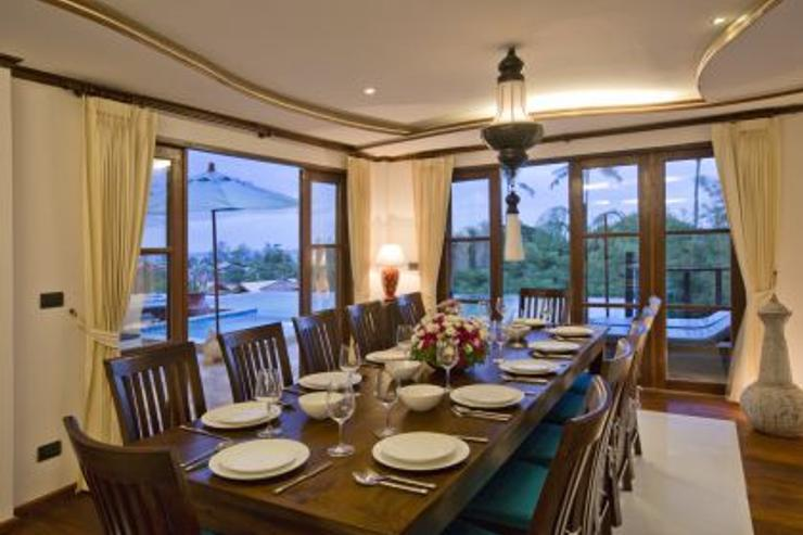 Royal Thai Villa - Dining Room for 12 Guests