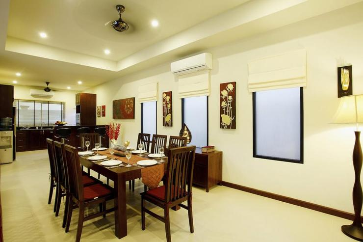 Ruby Villa - Private cook available to prepare and serve delicious Thai meals in this spacious dining area