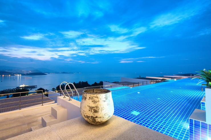 Serene Penthouse - Serene Penthouse at night - beautiful views of Samui's neighbouring islands