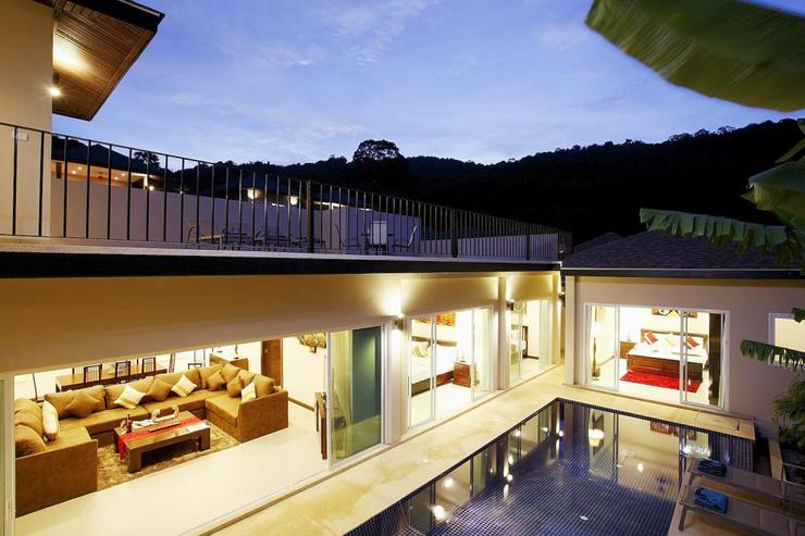 Topaz Villa - The above sun terrace has direct access down stairs to the lower sun deck and swimming pool