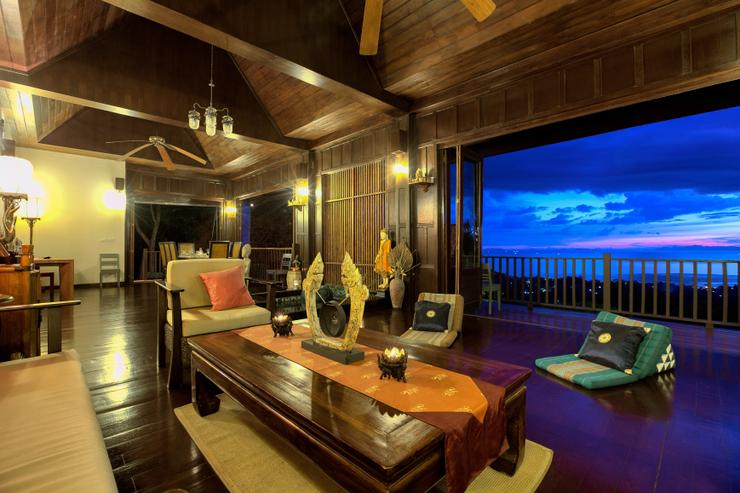 Villa Thai Teak - You can view the perfect sunset from every vantage point within the villa