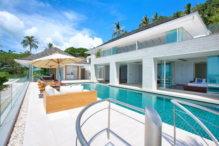 Villa White Tiger - Relax in the villa's amazing 16m infinity-edged private swimming pool