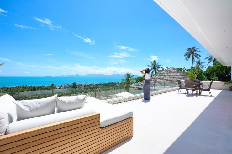 Villa White Tiger - Panoramic sea-views overlooking Ang-Thong Marine Park & Koh Pha Ngan