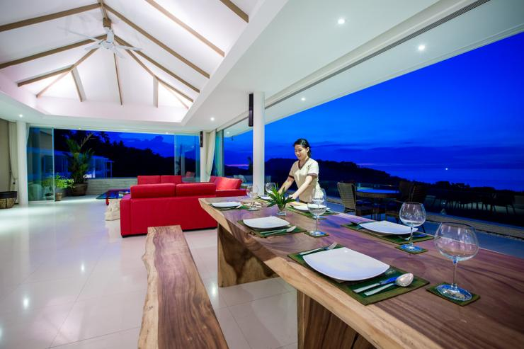 Villa White Tiger - Why not try our own private chef cooking up the local Thai cuisine