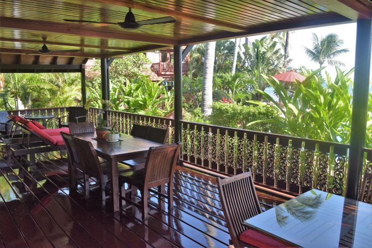 Banyan Villa 3 - Lower Balcony