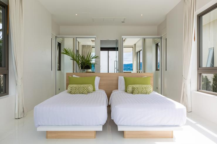 Master Bedroom (Lime Room) Twin Beds/Super King Size