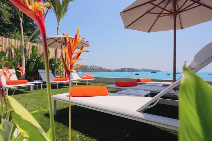 Relax in private over-looking Ao Yon's beautiful uncrowded white-sand beach, open 365-days a year.