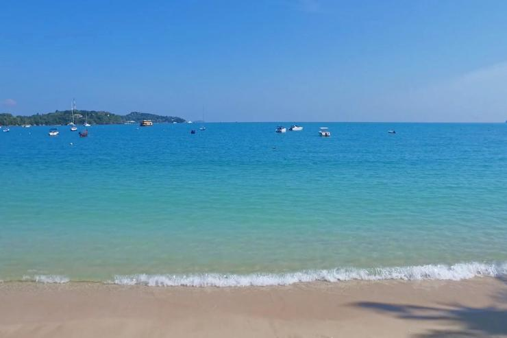 The idyllic white sands of Ao Yon Bay only a step away. Beautiful and calm, it's Phuket's only beach open for 365 days, as most are closed for 6 months.