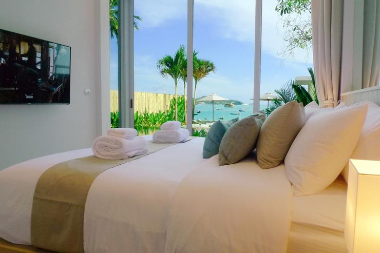 The Beach House - All bedrooms enjoy luxury cotton linen, as well as breath-taking views over the sea.