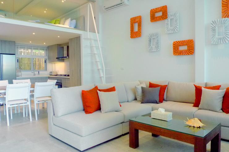 The feeling of contemporary and stylish beach living is given from every part of the villa.