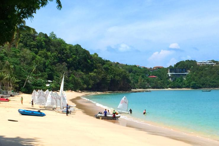 You can enjoy paddle boarding, dingy, Hobie Cat or yacht sailing from Phuket's no.1 sailing and water sports centre, located just 100 meters from the villa.