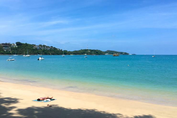 The reason people love to visit Phuket is it's beautiful beaches and turquoise blue seas and there none better that the peaceful beach at Ao Yon.