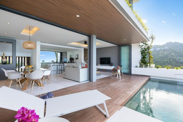 Villa Veasna - Sleamless indoor and outdoor living areas