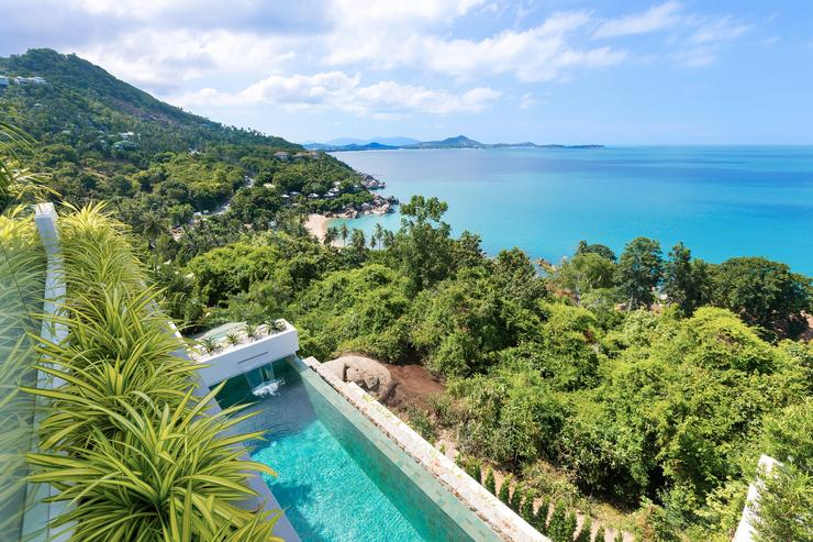 Villa Veasna -  Jwa-dropping views on the lovely nigh pristine Coral Cove