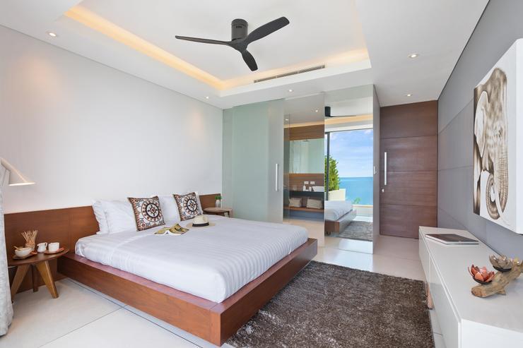 Villa Veasna - Guest bedroom with en-suite bathroom